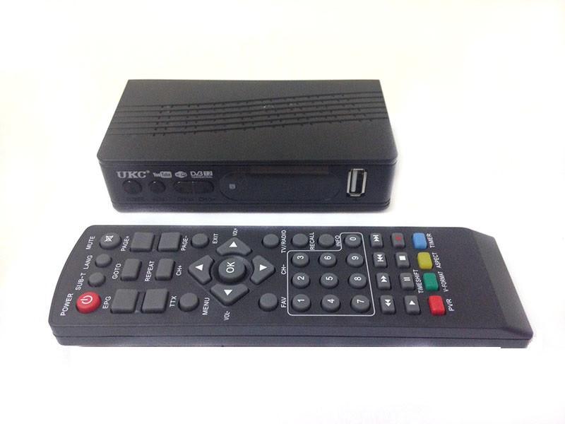 🔥 ТВ ресивер тюнер DVB-T2 UKC 0967 с поддержкой wi-fi адаптера