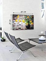 Фотографическая картина «Букет желтых цветов»