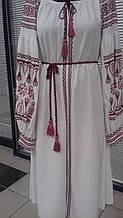 """Вышитое платье в стиле """"Бохо"""". Этническая вышивка."""