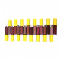 🔥 Набор губных помад Huda Beauty Victoria's Secret - Lip Gloss Mate 58040, 16 цветов блеска для губ