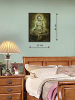 Картина 30х40 на холсте «Кришна»