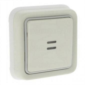 Вимикач кнопковий з підсвіткою в комплекті,  Н.О.+Н.З.