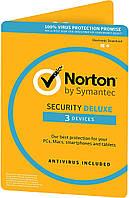 Norton Security Deluxe 3.0 (3 ПК / 1 рік)
