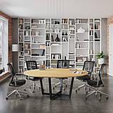 Круглый стол для переговоров D-2000 Loft-design 2000х750 мм, фото 2