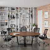 Круглый стол для переговоров D-2000 Loft-design 2000х750 мм, фото 4