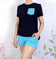 Женская хлопковая пижама 42-56 размеры, фото 1