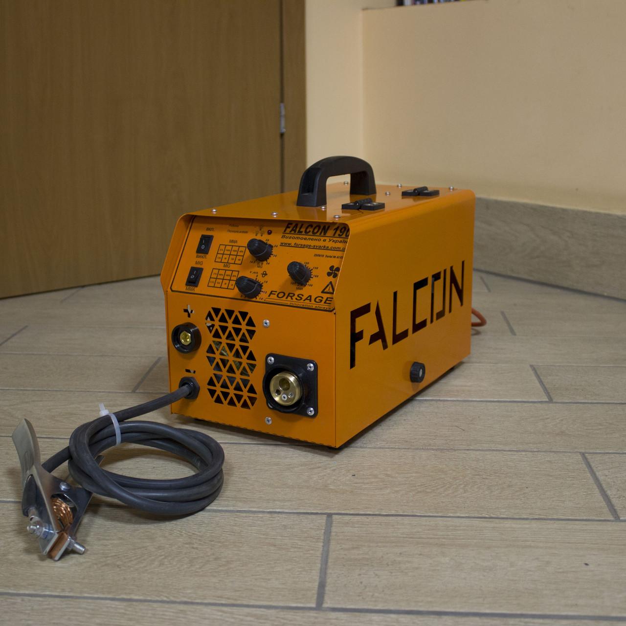 Полуавтомат инверторный FORSAGE FALCON MIG/MMA 190 EURO