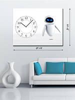 Фотографическая картина с часами «EVE»