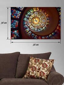 """Картина с часами """"Мозаика"""""""