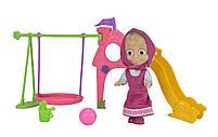 Игровой набор Simba Кукла Маша с детской игровой площадкой из м/ф Маша и Медведь (109301816), фото 3
