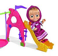 Игровой набор Simba Кукла Маша с детской игровой площадкой из м/ф Маша и Медведь (109301816), фото 4
