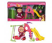 Игровой набор Simba Кукла Маша с детской игровой площадкой из м/ф Маша и Медведь (109301816), фото 5