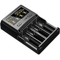 Зарядное устройство Nitecore SC4 с дисплеем для Li-Ion, IMR, LiFePO4, Ni-Mh и Ni-Cd, фото 1