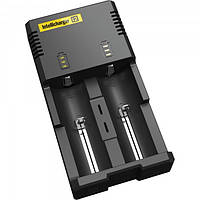 Універсальний зарядний пристрій Nitecore Intellicharger i2 для Li-Ion / IMR, Ni-Mh / Ni-Cd, фото 1