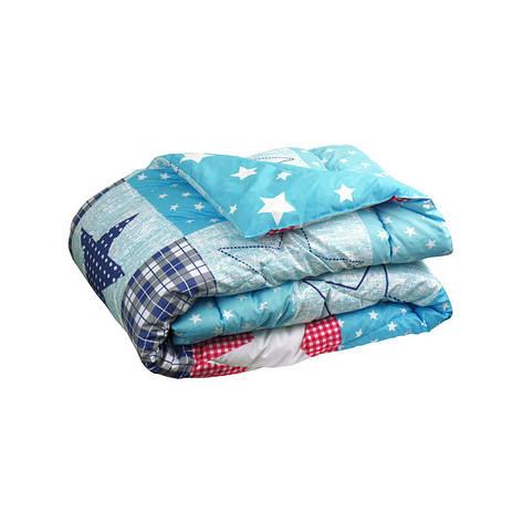 Одеяло 200х220 с искуственного лебяжего пуха, фото 2
