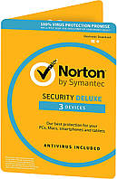 Norton Security Deluxe 3.0 (3 ПК / 3 роки)