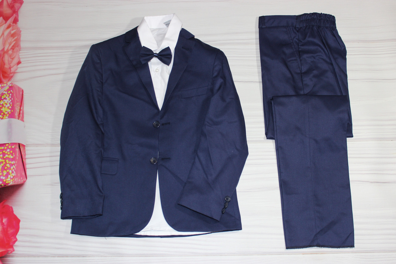 Костюм для мальчика тройка Пиджак, рубашка, брюки Турция на 10 - 11 лет
