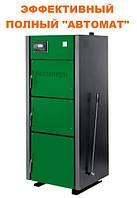 Универсальный котел длительного горения Макситерм Профи 33 кВт утеплённый