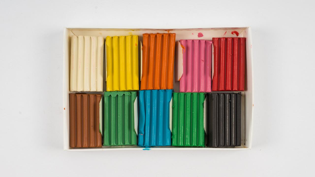 Набор пластилина. 10 цветов 100г. ТЕТРАДА - Страна Мастеров ТЕ445