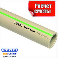 Труба EVO D.110 PN20 полипропиленовая пластиковая Ekoplastik
