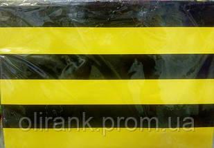 Пакет-сумка ламінований 32х24 ,шт (10шт в уп) (полоса)