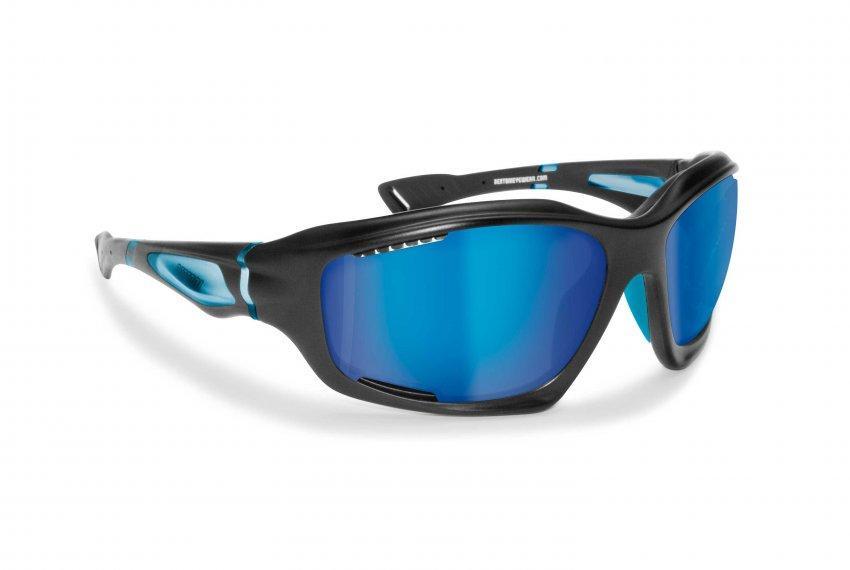 Поляризационные солнцезащитные очки для вело, водных видов спорта, бега, парашютного спорта. BERTONI P1000D