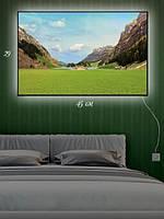 Картина с подсветкой 29х45 «Дом отдыха»