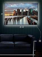 Картина с подсветкой 29х45 «Встреча новой и старой эпохи»