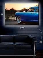 Картина с подсветкой 29х45 «Синяя чайка»