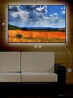 Картина с подсветкой 29х45 «На пашне»