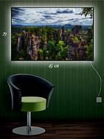 Картина с подсветкой 29х45 «Брайс каньон»