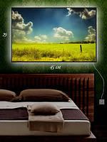 Картина с подсветкой 29х45 «Погода в ярком поле»