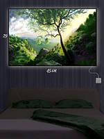 Картина с подсветкой 29х45 «На склоне холма»
