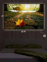 Картина с подсветкой 29х45 «В память об осени»