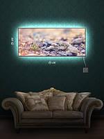 Картина с подсветкой 29х69 «Смелый росток»