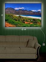 Картина с подсветкой 29х45 «Летние каникулы на Крите»