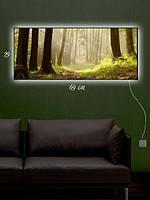 Картина с подсветкой 29х69 «Звуки природы»