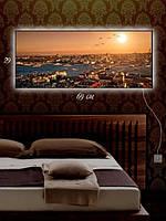 Картина с подсветкой 29х69 «Центр туризма»
