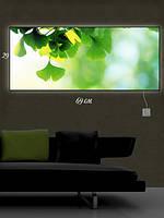 Картина с подсветкой 29х69 «Зеленое настроение»