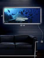 Картина с подсветкой 29х69 «Гроза семи морей»