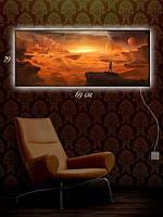 Картина с подсветкой 29х69 «Другая планета»