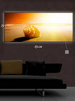 Картина с подсветкой 29х69 «Звуки моря»