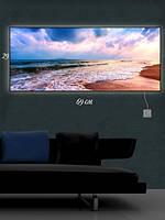 Картина с подсветкой 29х69 «Прибой моря»