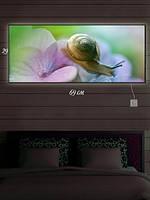 Картина с подсветкой 29х69 «Изящество и грация»