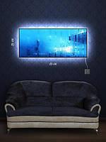 Картина с подсветкой 29х69 «Подводная одиссея»
