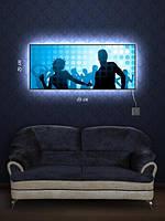 Картина с подсветкой 29х69 «Танцоры Диско»