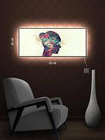 Картина с подсветкой 29х69 «Женские фантазии»
