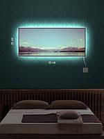 Картина с подсветкой 29х69 «Альпийские просторы»