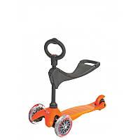 Самокат Micro Mini 3 в 1 Оранжевый 2339-01, КОД: 1122023