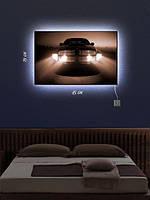 Картина с подсветкой 29х45  «Машина»